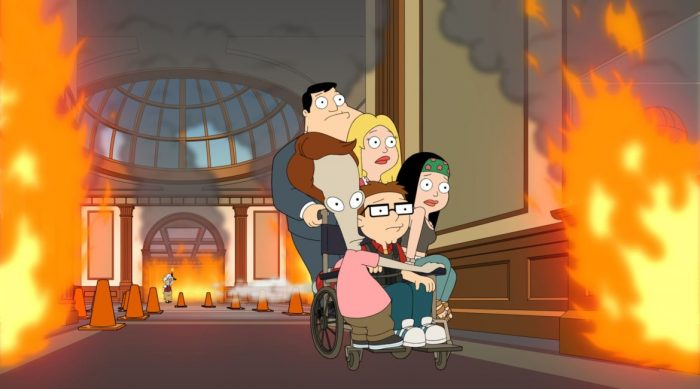 Watch 'American Dad! Season 17 episode 9' online: One Fish, Two Fish – Euro T2 ...