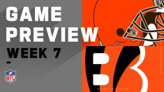 Cleveland Browns vs. Cincinnati Bengals | NFL Week 7 Game – CWR CRB